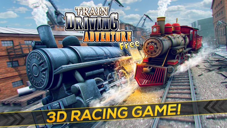 Train Driving Adventure | The 3D Rail Race Train Game for