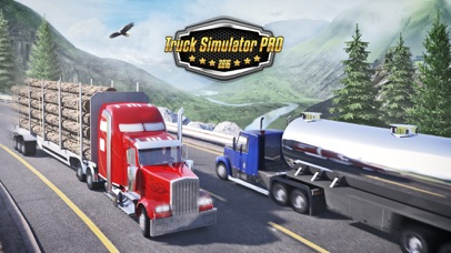 Truck Simulator PRO 2016 screenshot1