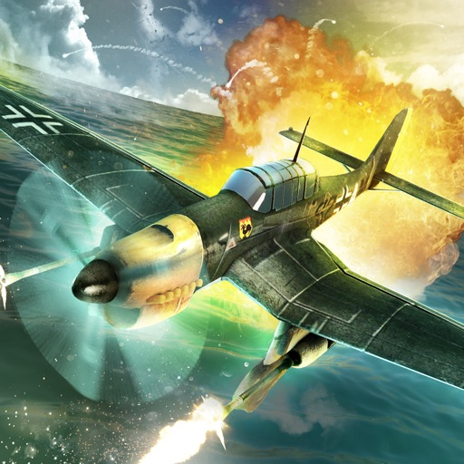Allies Sky Raiders WW2: 1942 Iron Storm in Air Force Empires Free iOS App