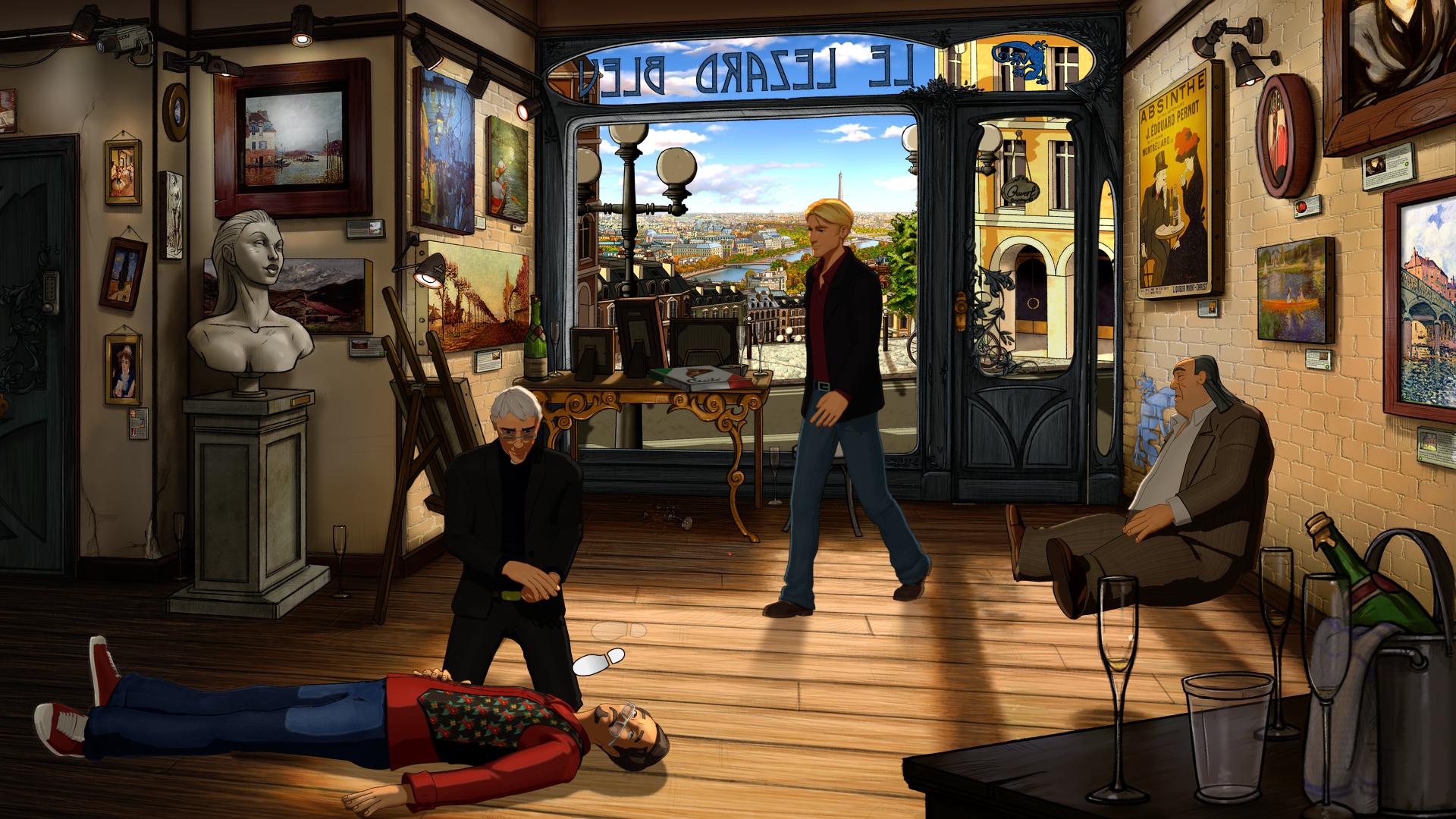 Broken Sword 5 screenshot 11