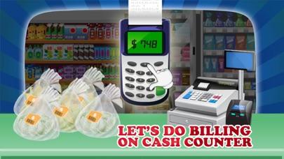 cajera de supermercado - manejar la caja registradora en este juego de simulación para los niñosCaptura de pantalla de3