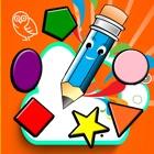 Saiba cores formas de aprendizagem das crianças. icon