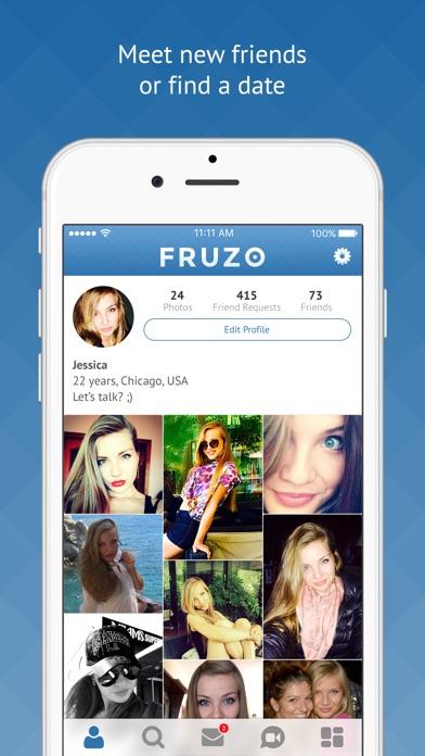 Mobile social network for dating