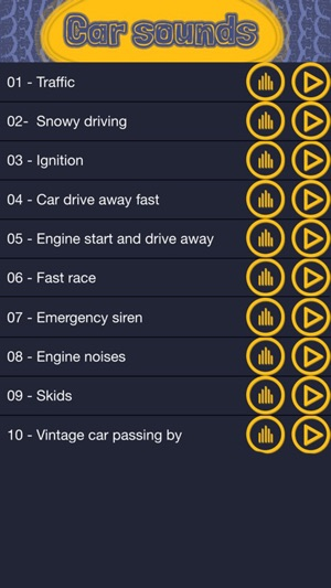 Car Sounds and Noises – Free Ringtones And Notification Alert s For