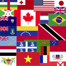 Activities of National Country Flags of The World Map Quiz