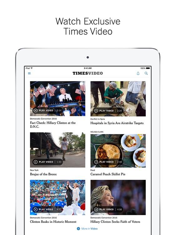 NYTimes – Breaking World, National & Politics News screenshot-4