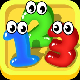 Kids Math Learn Numbers Game - Numbers Match Brain Puzzle Game