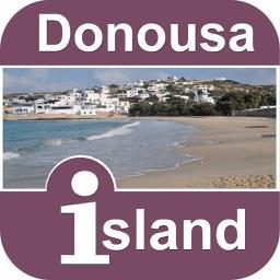 Donousa Island Offline Map Tourism Guide