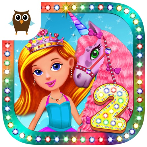 Princess Girls Club 2 - Makeover, Dress Making & Tea Party