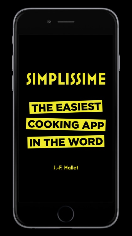 Simplissime: The easiest cooking app in the world screenshot-0