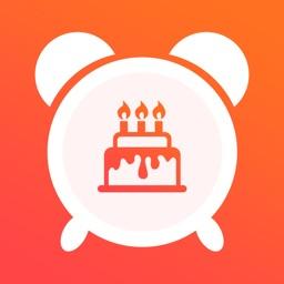 生日提醒 - 从不错过你的生日
