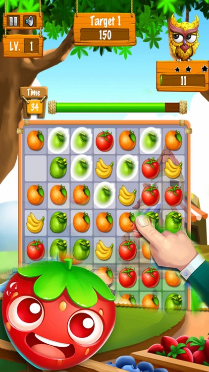 Fruit Party - Puzzle Splash Mania