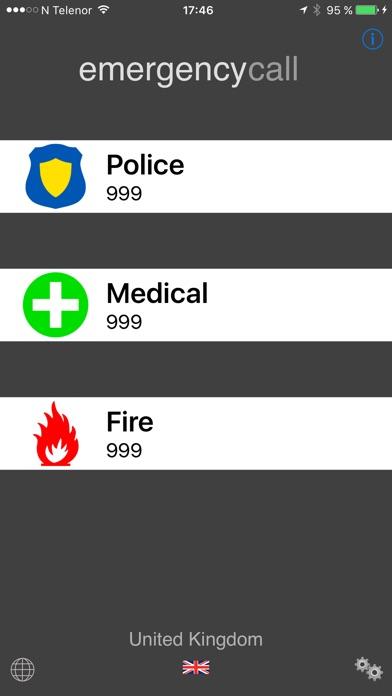 Screenshot for Emergency Call Anywhere in Belgium App Store