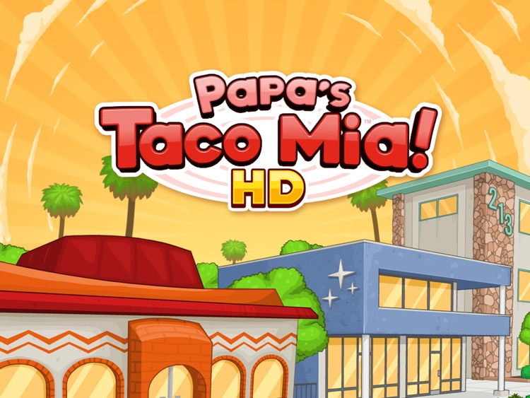 Papa's Taco Mia HD screenshot-0