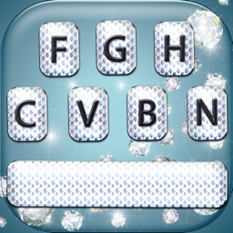 Diamond Keyboard Changer – Shiny Skins and Themes with Glitter Color Text Font.s