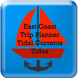 East Coast Trip Planner using Tidal Currents + Tides app
