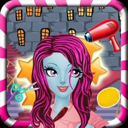 Monster Girl Makeover Salon. Monster Dress Up and Makeover Games