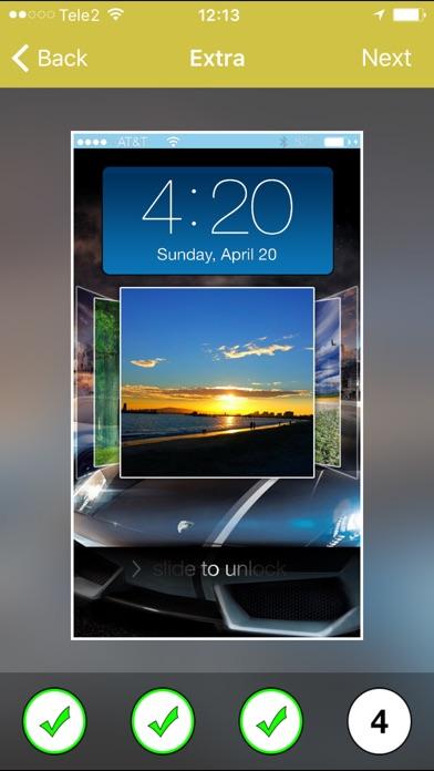 Lockscreen plus - Pimp your lock screen and backgrounds app image