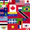 National Country Flags of The World Map Quiz