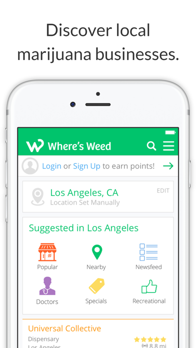 Where's Weed Marijuana Strains & Dispensary Maps screenshot one