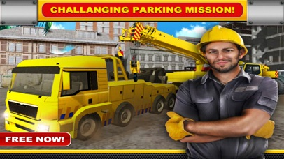 Construction Crane Parking Simulator 3D