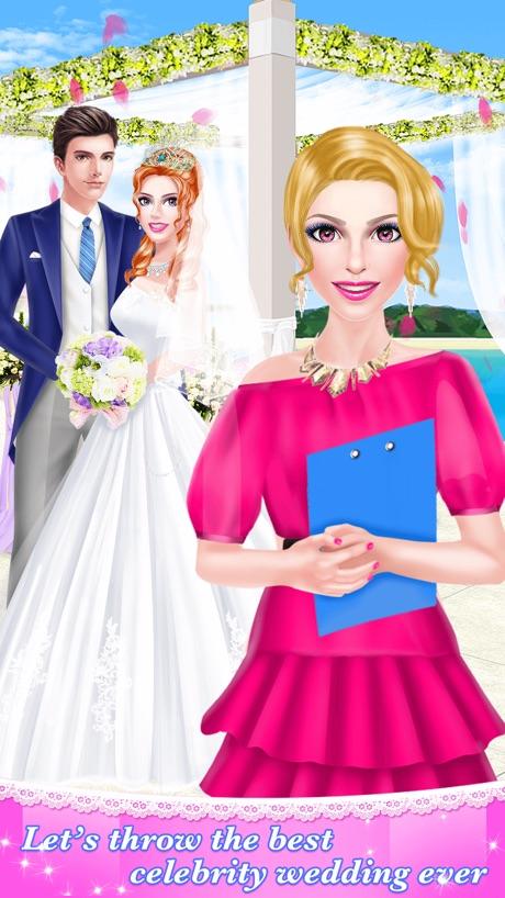 Celebrity Wedding Planner – Bridal Makeover Salon: SPA, Makeup & Dressup Beauty Game for Girls