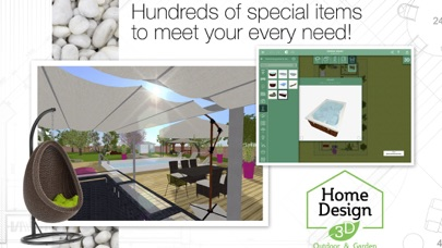 Screenshot #9 for Home Design 3D Outdoor&Garden