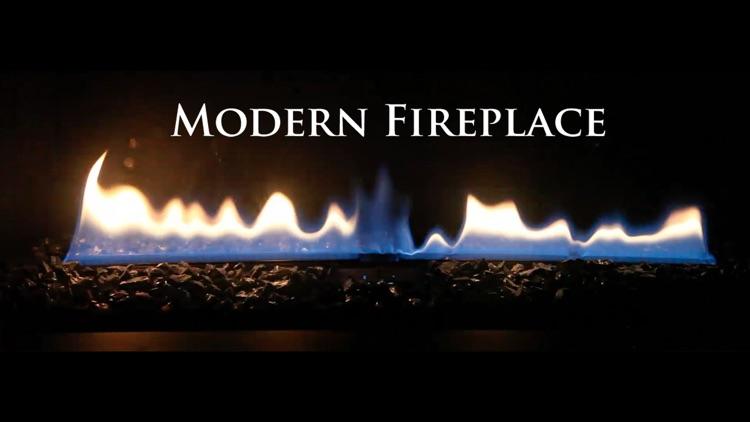 Modern Fireplace Black