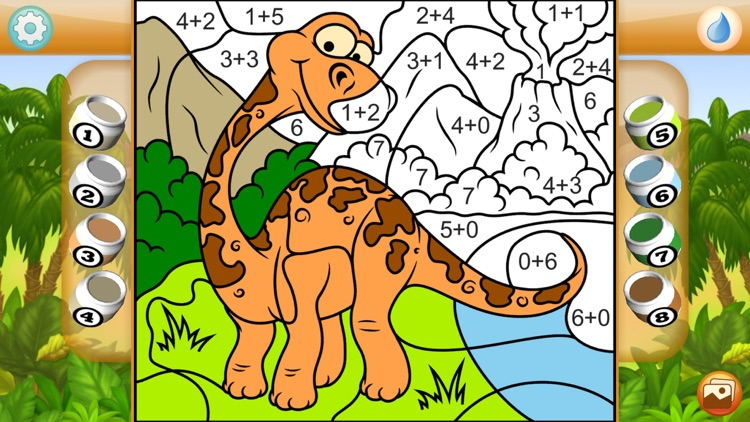 Paint by Numbers - Dinosaurs