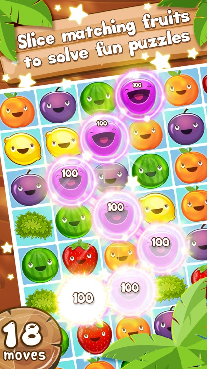 Fruit Pop! Puzzles in Paradise - Fruit Pop Sequel screenshot-0