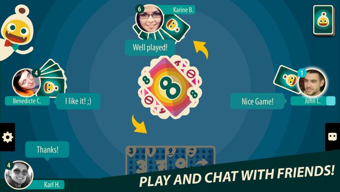 Crazy 8s ∙ Card Game Screenshot