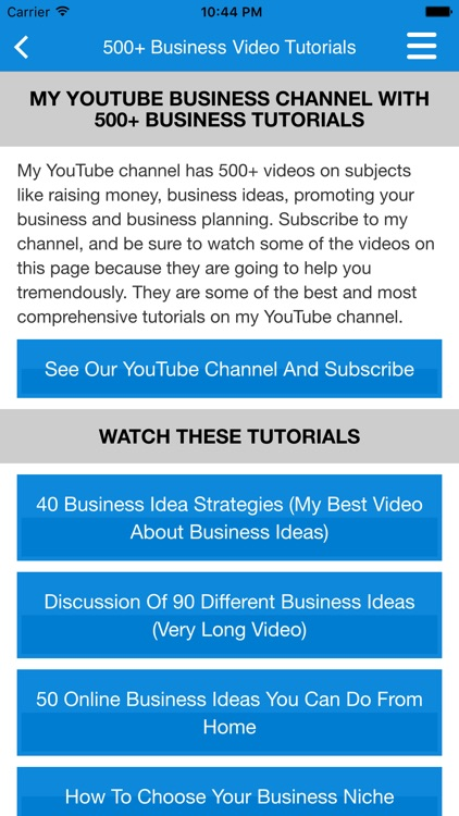 Small Business & Startup Ideas screenshot-4