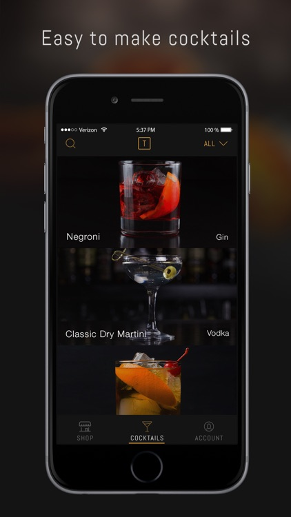 Thirstie: Alcohol delivery and cocktail recipes screenshot-4