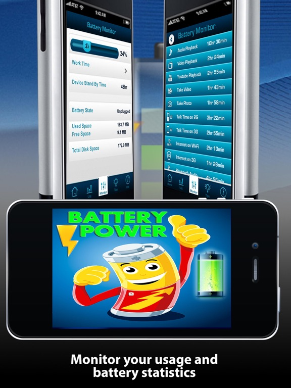 Battery Power Doctor Lite Free Battery Booster Optimization Tips & Tricks screenshot