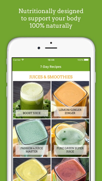 Jason Vales 7 Day Juice Challenge (7lbs In 7 Days) review screenshots
