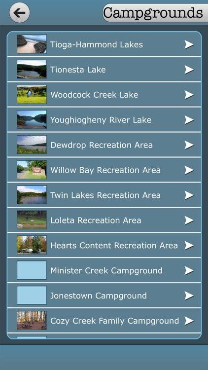 Pennsylvania - Campgrounds & State Parks screenshot-3