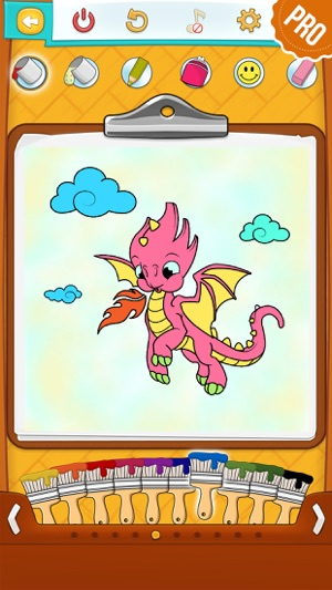 Dragon Coloring Pages PRO