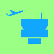Airport Information - Check-In + Flight Delays + Terminal Maps icon