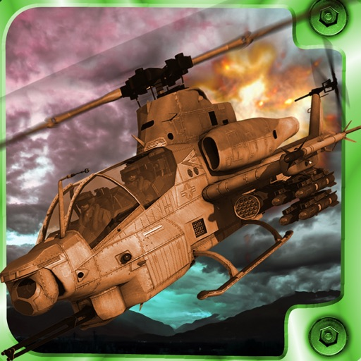 Super Explosive Combat Helicopter - Flying High And Avoid blow