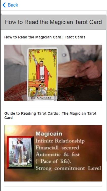 How to Read Tarot Cards - Basic Beginner Advice screenshot-4