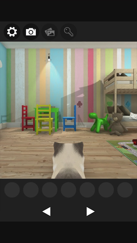 Escape Game Cat S Treats Detective4 Scattered Toys In Kids Room Online Game Hack And Cheat Gehack Com