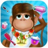 Animal Hair Salon & Dress Up : monkey of the jungle and friends need makeover - FREE
