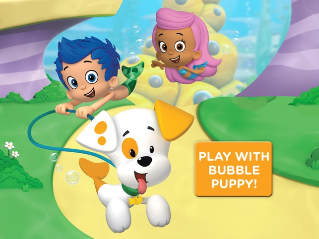 bubble puppy play and learn for ipad bubble guppies kids game on