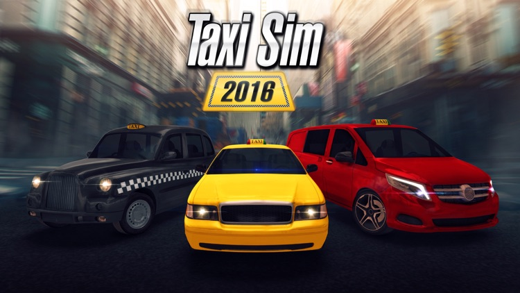 Taxi Sim 2016 screenshot-0