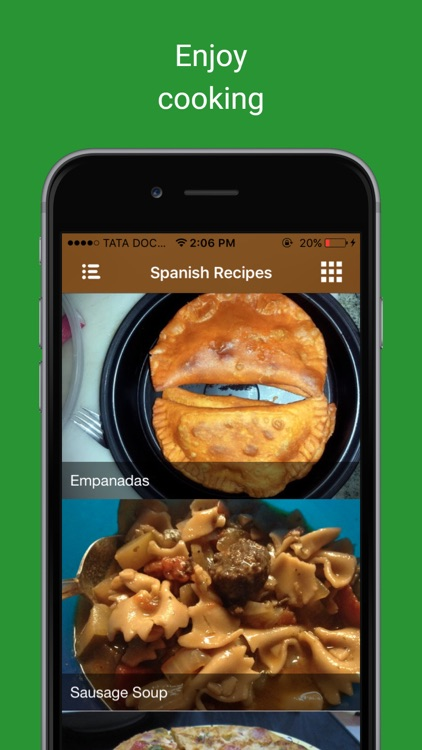 Appetizer food cooking Videos: Spanish pie recipes screenshot-4