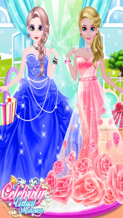 Celebrity Virtual Makeup Star Girl Salon Girls Dress Up Spa