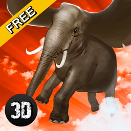 Wild Flying Elephant Simulator 3D