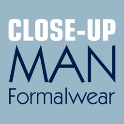 Close-Up Man Formalwear