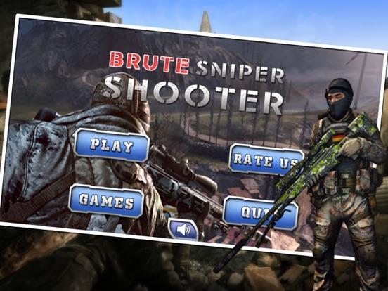 Brute Sniper Shooter-ipad-0