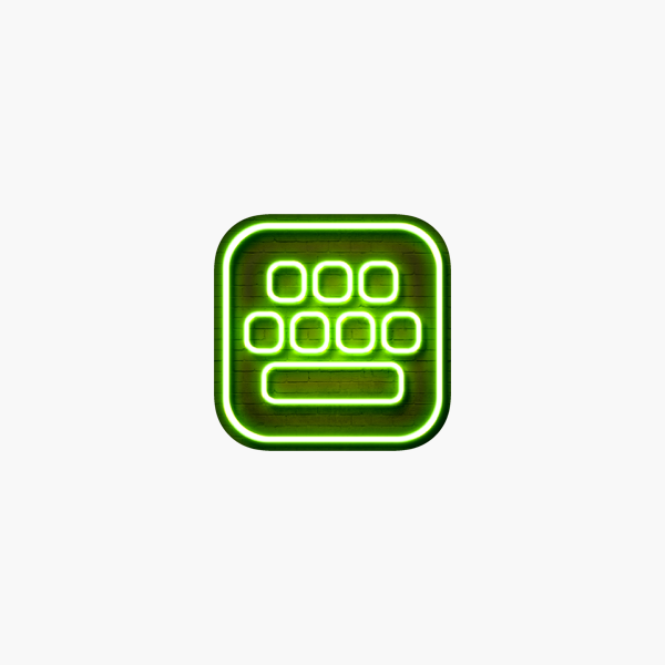 Neon Led Keyboard Glow Keyboards For Iphone With Colorful Themes And Fonts On The App Store
